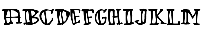 Green Babe Font LOWERCASE