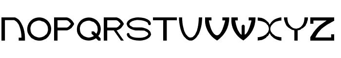 Green Dinosaur Font UPPERCASE