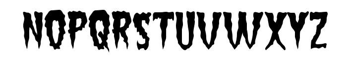 Green Fuz Font UPPERCASE