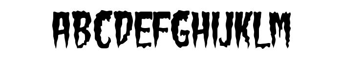 Green Fuz Font LOWERCASE