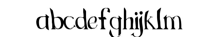 Green Grass Regular Font LOWERCASE