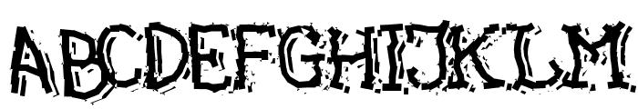 Green Grass Font UPPERCASE