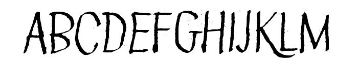 Green Queen Font UPPERCASE