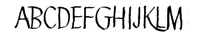 Green Queen Font LOWERCASE