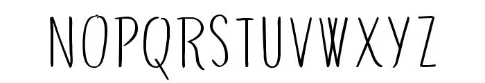 GreenSurf-Regular Font LOWERCASE
