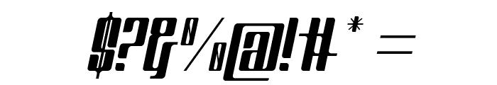 Greenleaf Italic Font OTHER CHARS