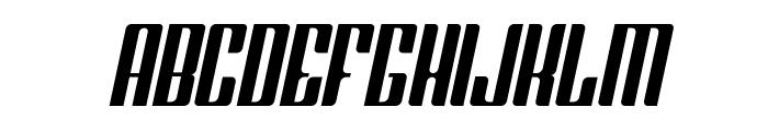 Greenleaf Italic Font UPPERCASE