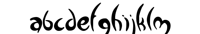 Greenman Font LOWERCASE