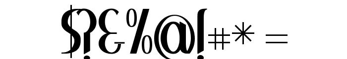 Greenstone Font OTHER CHARS