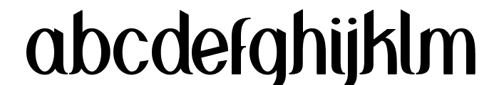 Greenstone Font LOWERCASE