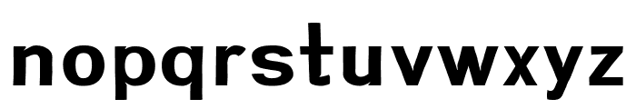 Greenstyle Bold Font LOWERCASE