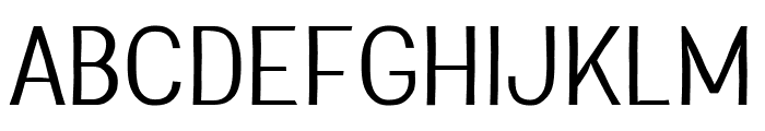 Greenstyle Light Font UPPERCASE