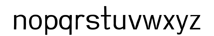 Greenstyle Light Font LOWERCASE