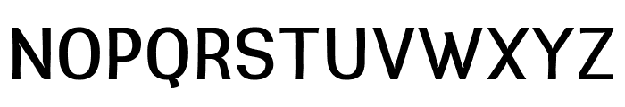 Greenstyle Medium Font UPPERCASE