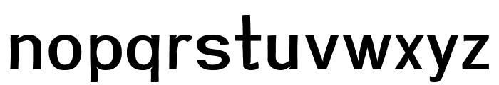 Greenstyle Medium Font LOWERCASE