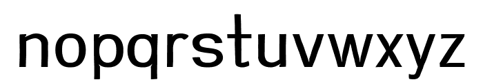 Greenstyle Regular Font LOWERCASE