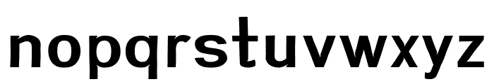 Greenstyle Semibold Font LOWERCASE