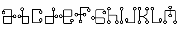 Greenwich Mean Font LOWERCASE