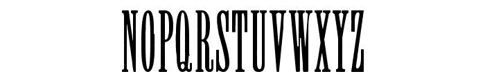 Greer Font UPPERCASE