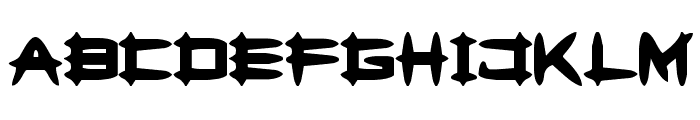 Greghor II Font UPPERCASE