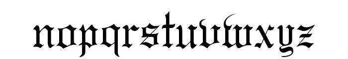 GregorianFLF Font LOWERCASE