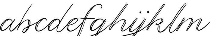 Gregson Font LOWERCASE