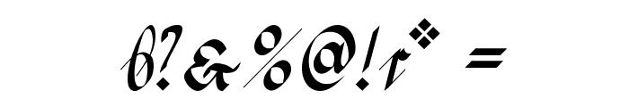 Greifswaler Deutsche Schrift Font OTHER CHARS
