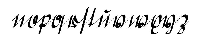 Greifswaler Deutsche Schrift Font LOWERCASE