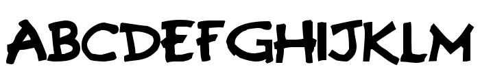 Gremlins Font UPPERCASE