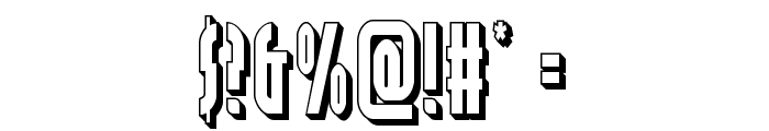 Grendel's Mother 3D Font OTHER CHARS