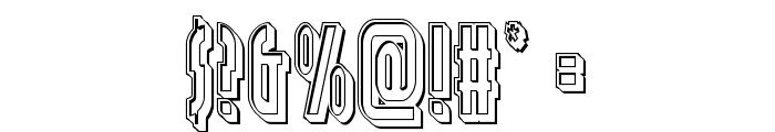 Grendel's Mother Engraved Font OTHER CHARS