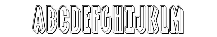 Grendel's Mother Engraved Font UPPERCASE