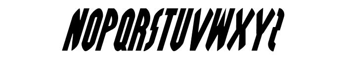 Grendel's Mother Italic Font UPPERCASE