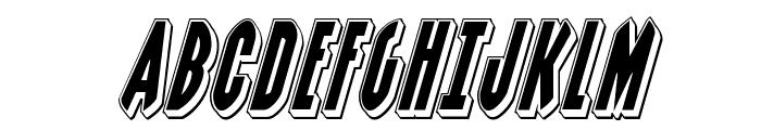 Grendel's Mother Punch Italic Font UPPERCASE