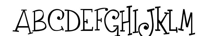 Grenouille Font UPPERCASE