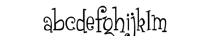 Grenouille Font LOWERCASE