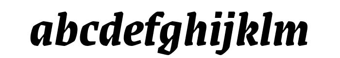 Grenze Bold Italic Font LOWERCASE