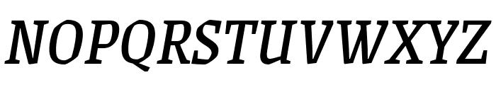 Grenze Italic Font UPPERCASE