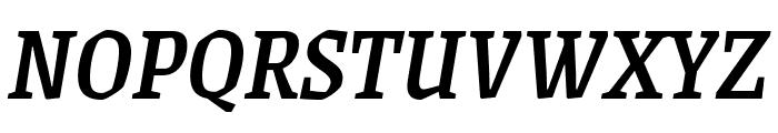 Grenze Medium Italic Font UPPERCASE