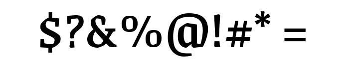 Grenze Medium Font OTHER CHARS