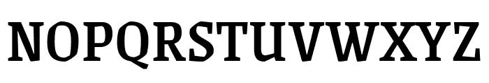 Grenze Medium Font UPPERCASE