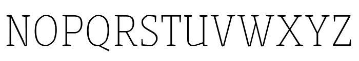 Grenze Thin Font UPPERCASE