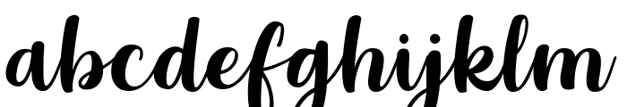 Grestal Script DEMO Regular Font LOWERCASE