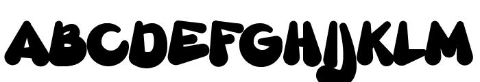 Gretoon Font UPPERCASE