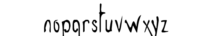 Grey Magus Font LOWERCASE