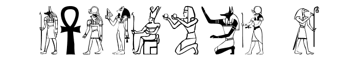 Greywolf Glyphs Font OTHER CHARS