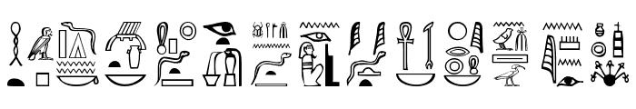 Greywolf Glyphs Font LOWERCASE