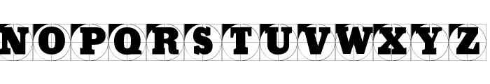 GridConcreteLogoable Font LOWERCASE