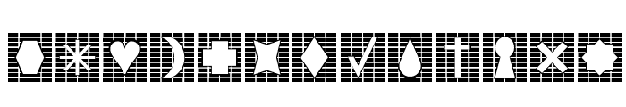 Grids n Things 2 Font LOWERCASE