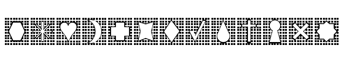 Grids n Things Font LOWERCASE